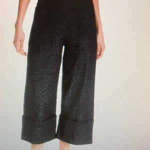 Kate Spade Cuffed Wide leg Crop Denim Pants